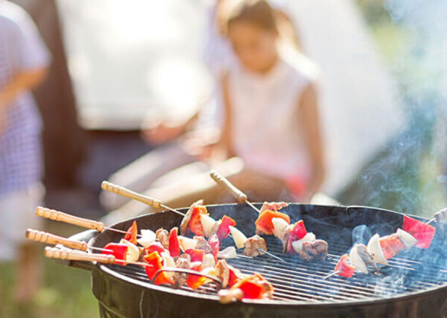 Barbecues for camping Highland Fires and BBQs tips