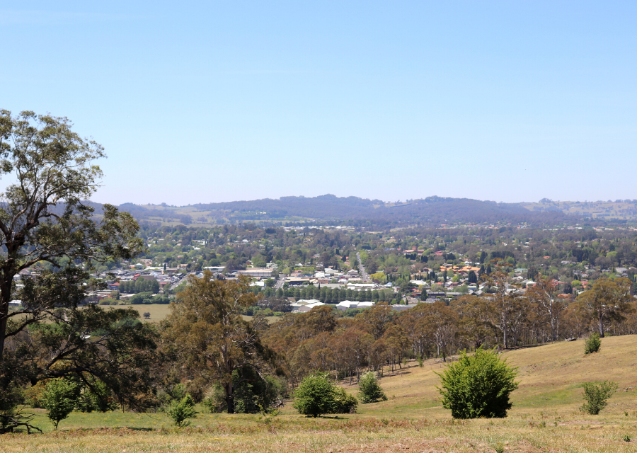 Bowral lookout Southern Highlands NSW