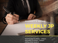 [CLOSED UNTIL FURTHER NOTICE] JP every Wednesday at Springett's Arcade
