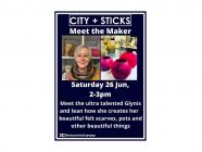 Meet the Maker at City + Sticks - Glynis from Glen Mist Felt