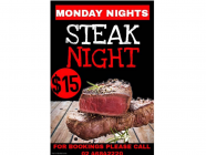 Steak Night at Hotel Bargo