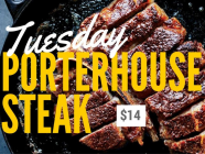 Tuesday Steak Night at Moss Vale Services Club