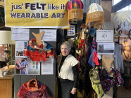 Artist in Residence: Felt Making