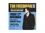 Tim Freedman – Dinner & Show at The Book Barn