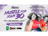 3x3 Community Hustle Fun and Free Basketball Clinic
