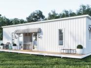 THE FOLD LOVES A STICKY BEAK // Mini Hamptons Luxury Mini Home