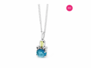 Multi-stone Pendant Discounted For Mother's Day