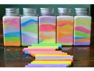 Rainbow Jars at Mittagong Library