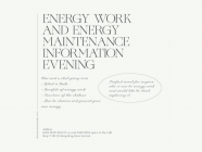 Energy Work and Energy Maintenance Information Evening