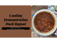 Duck Ragout Cooking Demonstration
