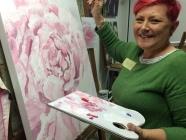 Tracey Miller Art Macro Floral Painting Workshop